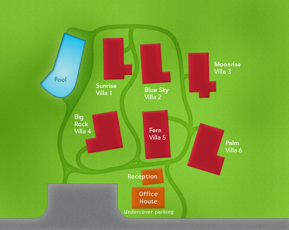 Villa plan of Samui Mountain Village